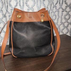 COPY - Vintage Bottega Veneta Black Brown Leather…